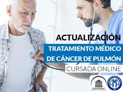 Tratamiento médico del cáncer de pulmón avanzado