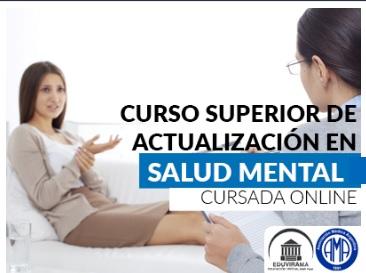 Curso Superior de actualización en salud mental