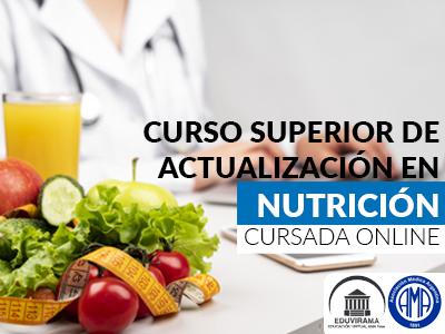 Curso Superior de actualización en Nutrición