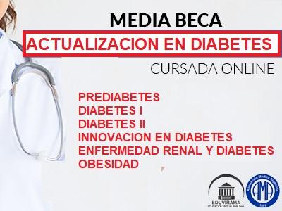 Media beca de actualización en diabetes