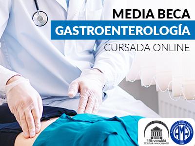 Media Beca de Actualización en Gastroenterología