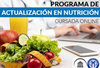 Programa de Actualización en Nutrición
